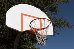Цель баскетбола стоковое фото