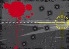 цель крови Стоковая Фотография RF