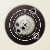 цель пули Стоковое Изображение RF