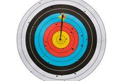 цель смычка стрелки Стоковая Фотография RF