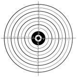 Цель стрельбы Стоковое фото RF