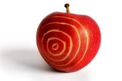 цель яблока Стоковые Изображения