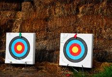 цель archery Стоковая Фотография