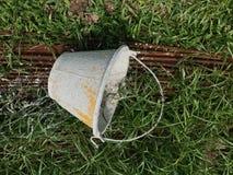 Цементированное ведро для конструкции Стоковое Фото