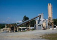 цементная промышленность Стоковая Фотография
