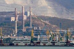 цементный завод Стоковое Изображение