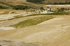 цементный завод стоковые фото