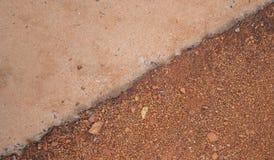 Цемент и почва стоковое изображение rf