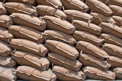 цемент мешков Стоковое Изображение RF