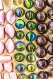 Цемент мраморизует шарик стоковые изображения rf