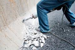 цемент прокалывает Стоковая Фотография RF
