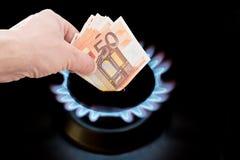 Цена газа стоковое фото