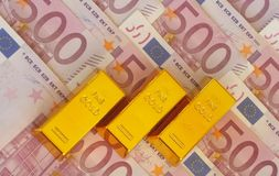 Цена золота Стоковые Изображения RF