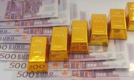 Цена золота Стоковая Фотография