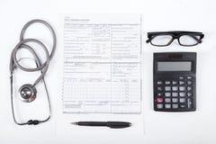 Цена концепции здравоохранения Стоковое фото RF