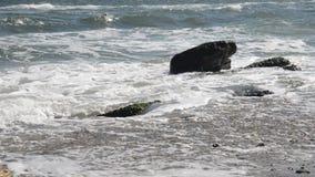 Цена моря с волнами сток-видео