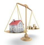цена на дом Стоковые Фото