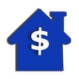 цена на дом Стоковые Изображения