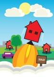 Цена на дом Rocket Бесплатная Иллюстрация
