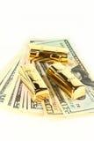 цена на золото Стоковые Фото