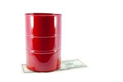 цена на нефть Стоковая Фотография