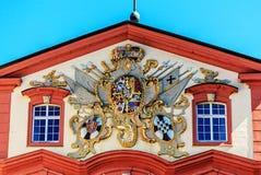 Цена оружий, замка Mainau, Германии стоковые фото