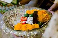 Цена Brice тайской свадебной церемонии стоковое изображение rf