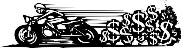 Цена ` s мотоцикла бесконечная Стоковые Изображения RF