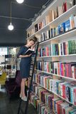 Ценная книга Концепция Bookstore Форум издателей опубликовывать стоковое фото