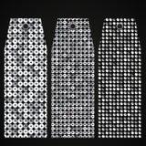 Ценник, бирка с сияющим серебряным sequin 10 eps Стоковые Фото
