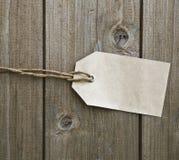 ценник пустой бумаги Стоковое фото RF