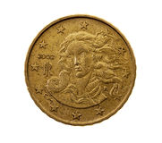 10 центов евро Стоковая Фотография