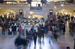 центральная грандиозная станция nyc стоковое изображение rf