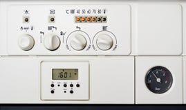 центральное отопление боилера Стоковые Фото