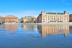 Центральное Стокгольм стоковое фото rf