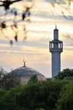 центральные правители парка мечети london Стоковые Фотографии RF