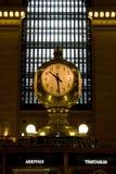 центральные часы грандиозные Стоковые Фото