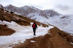 центральные toros гор trecking взгляд Стоковое Изображение
