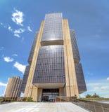 Центральный банк Бразилии размещает штаб здание - Brasilia, Distrito федеральное, Бразилия стоковая фотография