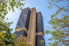 Центральный банк Бразилии размещает штаб здание - Brasilia, Distrito федеральное, Бразилия стоковая фотография rf