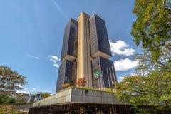 Центральный банк Бразилии размещает штаб здание - Brasilia, Distrito федеральное, Бразилия стоковые изображения rf