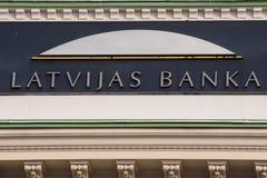 Центральный банк Латвии Стоковые Изображения