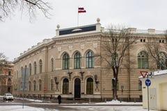 Центральный банк Латвии Стоковое Изображение