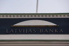 Центральный банк Латвии Стоковое Изображение RF