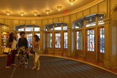 центральный вход грандиозный Стоковая Фотография