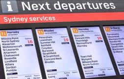 Центральный железнодорожный вокзал Сидней, Австралия стоковое фото rf