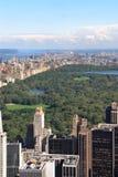 центральный новый парк york Стоковые Фото