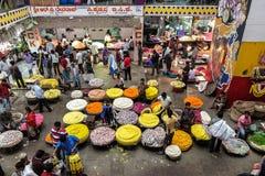 Центральный рынок в Бангалоре, Индии Стоковое Фото