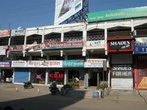 Центральный рынок Индии Стоковая Фотография RF