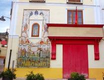Централь Botica в улице Noguera Xativa стоковые изображения
